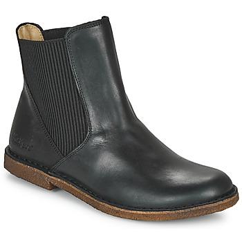 Cipők Női Csizmák Kickers TINTO Fekete