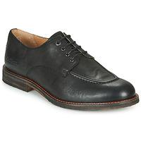 Cipők Férfi Oxford cipők Kickers ALPHABI Fekete