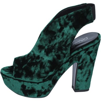 Cipők Női Szandálok / Saruk David Haron sandali velluto Verde