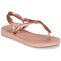 Cipők Lány Lábujjközös papucsok Havaianas LUNA MINI ME Rózsaszín