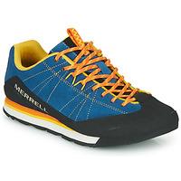 Cipők Férfi Rövid szárú edzőcipők Merrell CATALYST SUEDE Kék