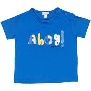 Ruhák Fiú Rövid ujjú pólók Nanan E20174 Avio