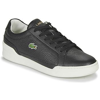 Cipők Női Rövid szárú edzőcipők Lacoste CHALLENGE 0120 1 SFA Fekete  / Fehér