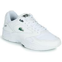 Cipők Férfi Rövid szárú edzőcipők Lacoste STORM 96 LO 0120 3 SMA Fehér / Zöld