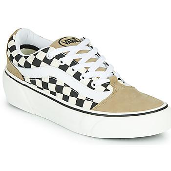 Cipők Női Rövid szárú edzőcipők Vans SHAPE NI Bézs / Fehér