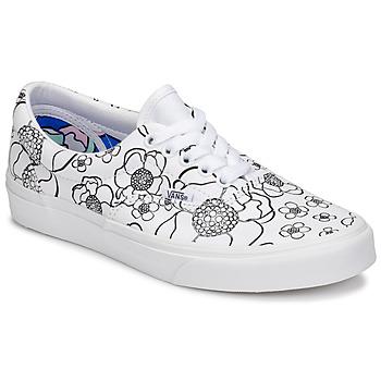 Cipők Női Rövid szárú edzőcipők Vans ERA Fehér / Fekete