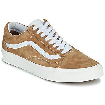 Cipők Rövid szárú edzőcipők Vans OLD SKOOL Teve