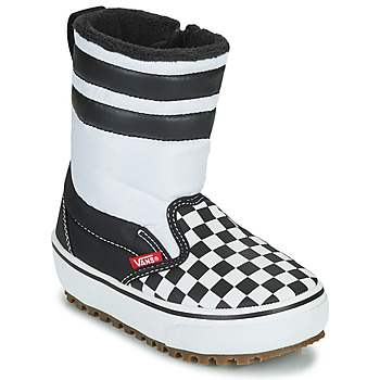 Cipők Gyerek Hótaposók Vans YT SLIP-ON SNOW BOOT MTE Fekete  / Fehér