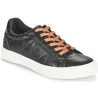 Cipők Női Rövid szárú edzőcipők Le Temps des Cerises VIC Fekete