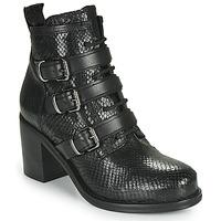 Cipők Női Bokacsizmák Mimmu JAYZE Fekete