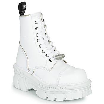 Cipők Csizmák New Rock M-MILI083CM-C56 Fehér