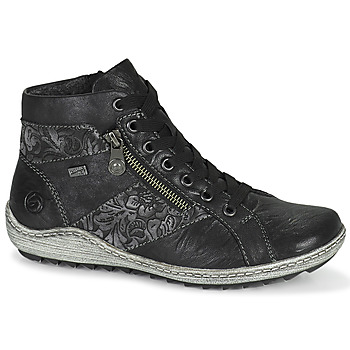 Cipők Női Magas szárú edzőcipők Remonte Dorndorf R1497-45 Fekete