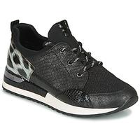Cipők Női Rövid szárú edzőcipők Remonte Dorndorf R2503-45 Fekete  / Leopárd