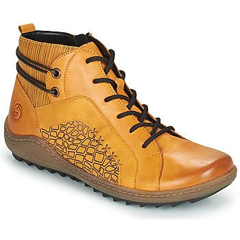 Cipők Női Magas szárú edzőcipők Remonte Dorndorf R1499-68 Citromsárga
