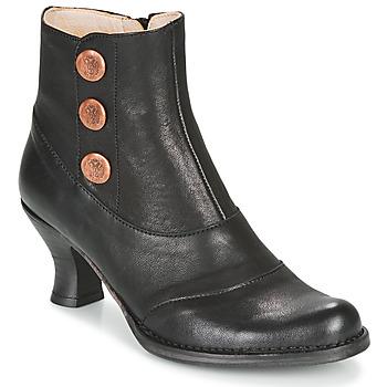 Cipők Női Bokacsizmák Neosens ROCOCO Fekete