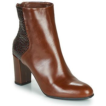Cipők Női Bokacsizmák Perlato JAMICOT Barna