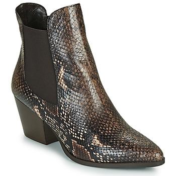 Cipők Női Bokacsizmák Perlato JAMOG Barna
