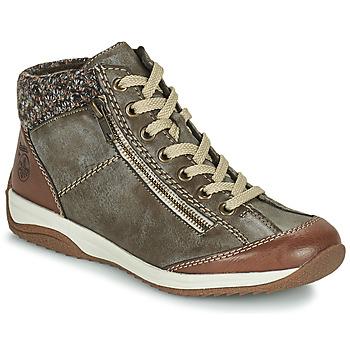 Cipők Női Csizmák Rieker L5223-24 Barna