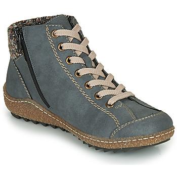 Cipők Női Csizmák Rieker L7543-14 Kék