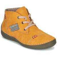 Cipők Női Csizmák Rieker 52543-69 Citromsárga