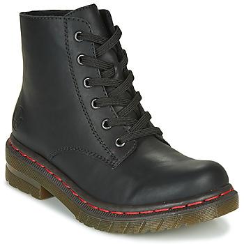 Cipők Női Csizmák Rieker 76240-00 Fekete