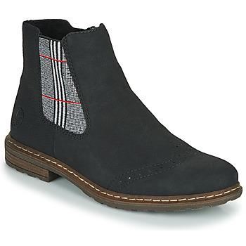Cipők Női Csizmák Rieker 71072-02 Fekete  / Sokszínű