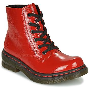 Cipők Női Csizmák Rieker 76240-33 Piros