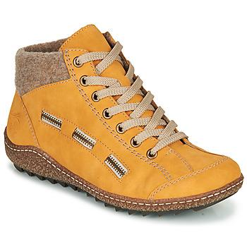 Cipők Női Csizmák Rieker  Citromsárga