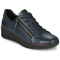 Cipők Női Rövid szárú edzőcipők Rieker 53702-14 Kék