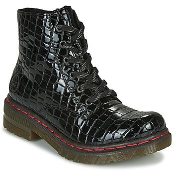 Cipők Női Csizmák Rieker 76246-00 Fekete