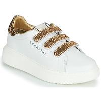Cipők Női Rövid szárú edzőcipők Serafini J.CONNORS Fehér / Arany