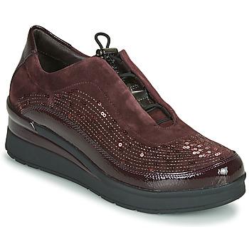 Cipők Női Rövid szárú edzőcipők Stonefly CREAM 21 Bordó
