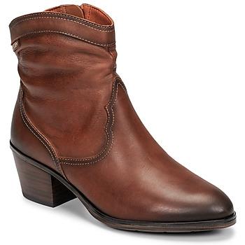 Cipők Női Bokacsizmák Pikolinos CUENCA W4T Barna