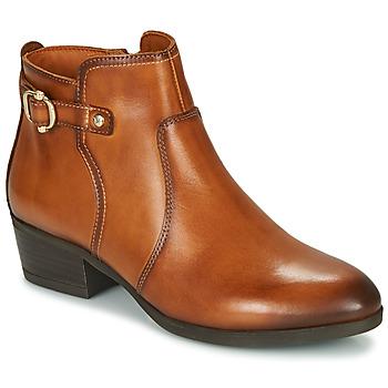 Cipők Női Bokacsizmák Pikolinos DAROCA W1U Barna