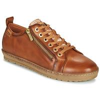 Cipők Női Rövid szárú edzőcipők Pikolinos LAGOS 901 Barna