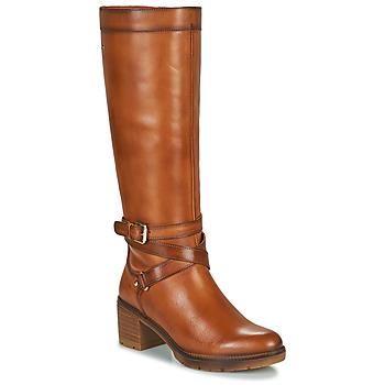 Cipők Női Városi csizmák Pikolinos LLANES W7H Barna
