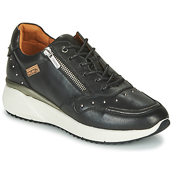Cipők Női Rövid szárú edzőcipők Pikolinos SELLA W6Z Fekete