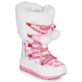 Cipők Lány Hótaposók Agatha Ruiz de la Prada APRESKI Fehér