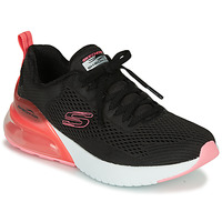 Cipők Női Rövid szárú edzőcipők Skechers SKECH-AIR Fekete  / Rózsaszín