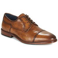 Cipők Férfi Oxford cipők Azzaro TILLEUL Konyak