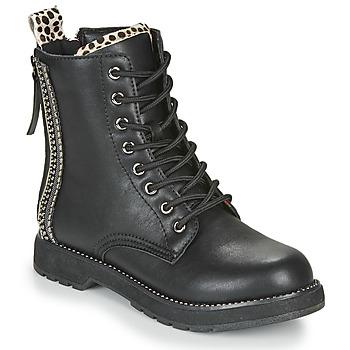 Cipők Női Csizmák Café Noir JAYTE Fekete