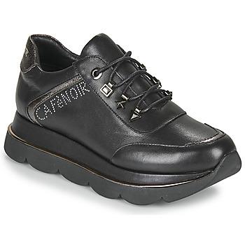 Cipők Női Rövid szárú edzőcipők Café Noir JIZELE Fekete