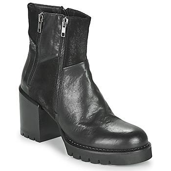 Cipők Női Bokacsizmák Café Noir JOEL Fekete