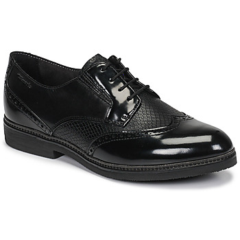 Cipők Női Oxford cipők Tamaris KELA Fekete