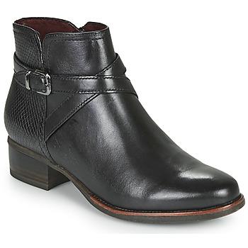 Cipők Női Bokacsizmák Tamaris MARLY Fekete