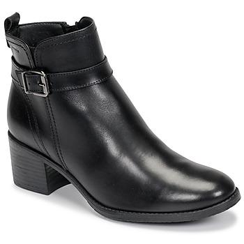 Cipők Női Bokacsizmák Tamaris PAULETTA Fekete
