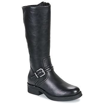Cipők Női Városi csizmák Tamaris TRIS Fekete