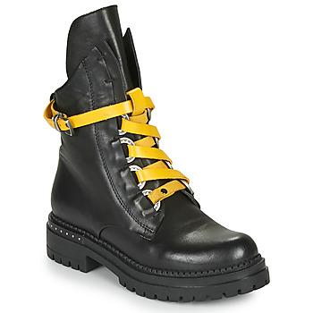 Cipők Női Csizmák Metamorf'Ose HADASSA Fekete