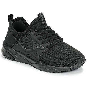 Cipők Gyerek Rövid szárú edzőcipők Kappa SAN DIEGO ELASTIC Fekete