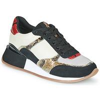 Cipők Női Rövid szárú edzőcipők Gioseppo KIROV Fekete  / Fehér